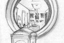 Zeichnung und Skulptur