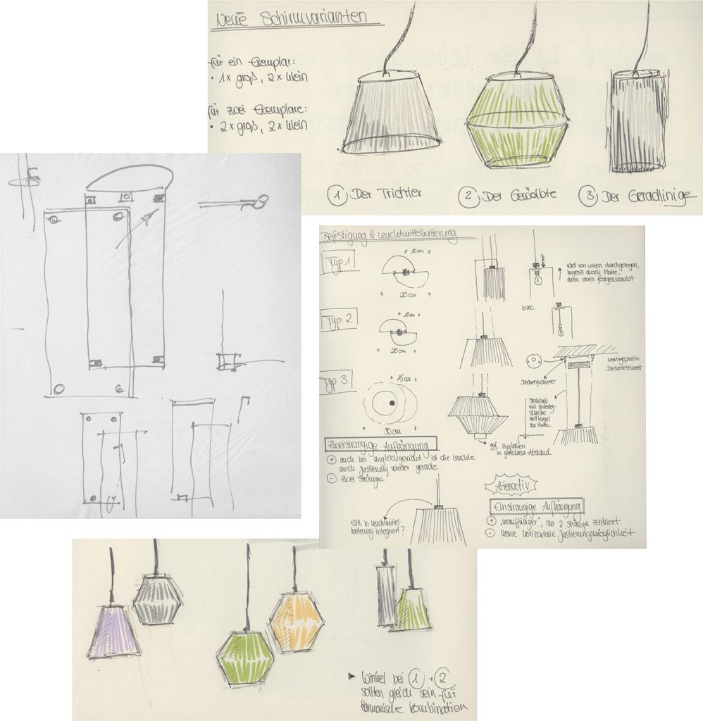 wrap&light skizzen